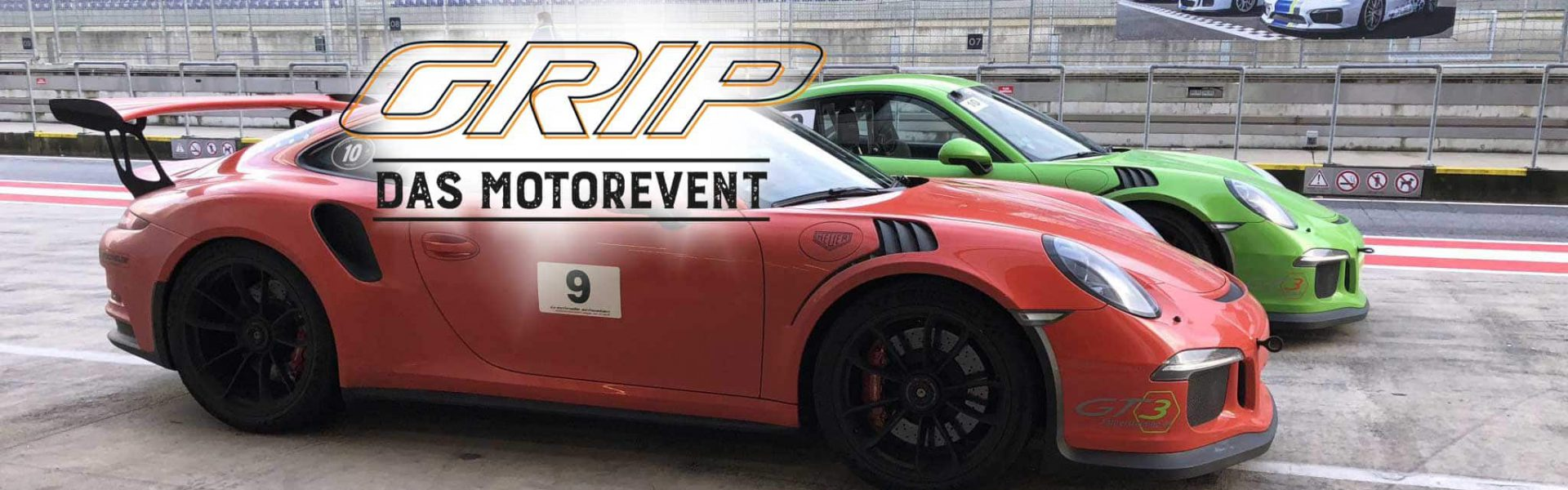 GRIP - Das Motorevent - Renntaxi GT3 Fahrertraining