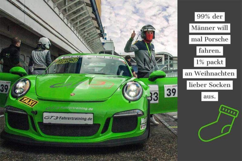 Weihnachtsrabatt bei GT3 Fahrertraining